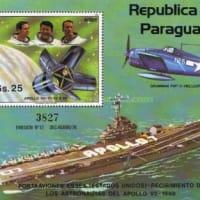 米国海軍 航空母艦 エセックス(CV-9)&アポロ7号