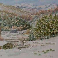 想い出めくり№7「船路雪景色3」