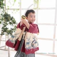 5/28 七五三撮影 プロの着付けです 札幌写真館ハレノヒ