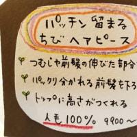 ◆パッチンちびヘアピース販売開始◆