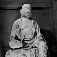 丹波佐吉 地蔵菩薩半跏像 木製光背発見
