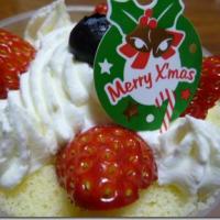 六花亭のクリスマスショートケーキ