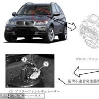 【リコール】BMW「X5 3.0si」他8車種のブロワーファンレギュレーターに不具合