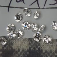 ダイヤモンドのハーフエタニティリング オーダー事例