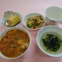 ◆もも・つぼみ組◆ 給食の様子