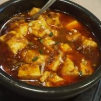 本格的な麻婆豆腐ランチで昼飲み