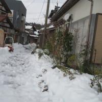 今日14日の積雪は・・・