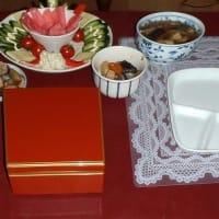 新年の食卓・・・・ (^^;)