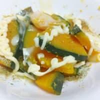 カンタンご飯・カボチャのホットサラダ