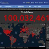 コロナ感染、世界1億人 急拡大、2カ月半で倍増 共同通信社 2021/01/27 05:07