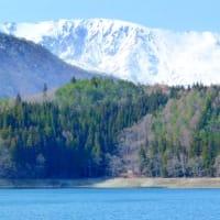 早春の仁科三湖・・・青木湖から・・・アルプスの風景