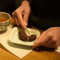 1月のてづくり和菓子は 「おはぎ」