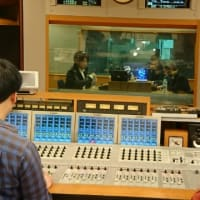 横浜エフエムで番組収録