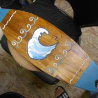 サンマの塩焼きとサーフィンとアオリイカのモザイク