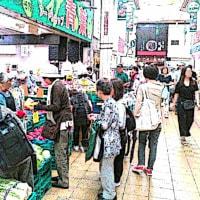 日曜日の千林商店街