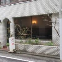 「キュービック」、青葉区上杉の喫茶店で、手打ちそばランチ700円。おかず+ご飯+お新香+コーヒー付き