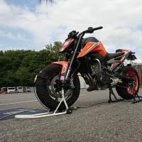 KTM 790 DUKE ジムカーナ大瀧Special DUNLOP CUP 後半戦!