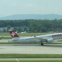 チューリッヒ空港ー11(Swiss International Air Lines)