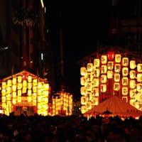 祇園祭宵山 鉾天 月鉾→函谷鉾→長刀鉾