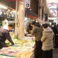 師走の近江町市場