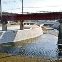 日高川町江川川  大規模災害復旧が全区間完了 すでに過去の災害時雨量に効果発揮 〈2021年2月26日〉