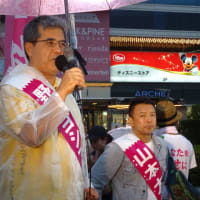 「れいわ新選組」山本太郎代表と創価学会の野原善正候補(東京都選挙区)が「公明党の山口那津男代表とガチンコで勝負で、公明党を連立政権から引っ剥がす、下野させる」と攻撃