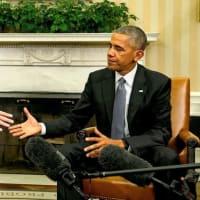 OBAMA SLAMS VIRUS RESPONSE IN GRADUATION SPEECHオバマ大統領が政権批判