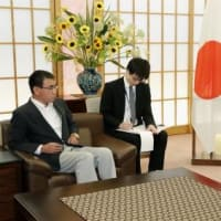 河野太郎と駐日大使の南官杓が『大ゲンカ』!