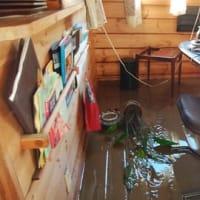 台風19号から1か月 その2 (床上75cm浸水の自宅兼管理棟)