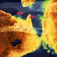 【6000年前「古石狩湾」地域の交流痕跡】