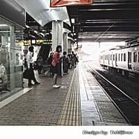 2016年6月・小倉駅ホーム