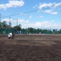 本日の第三弾 ~文京高校野球部練習試合~