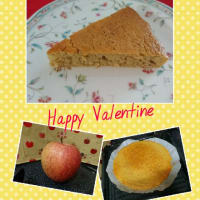 りんごのしっとりケーキ