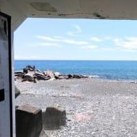 小田原の風景「海へのトンネル」パート 2!小田原魚河岸でん
