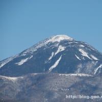 北アルプスと蓼科山