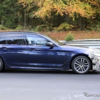 【BMW】グリルは巨大化しません!5シリーズ目玉の新グレードは「545e xDrive」