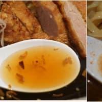 19166 客野製麺所@金沢 5月28日 ガツンとくる!漢まえな冷やしに今年もメロメロ!「辛ぶっかけ+パーコー」