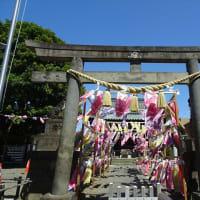 「こいのぼり」/嶺白山神社