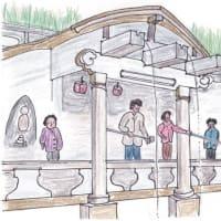 清水寺 音羽の滝(京都市東山区)