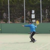 今年初のテニスオフ開催