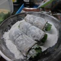 24番。サンマのロールステーキ、ムニエル、自家製マレーシアン風