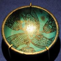 ミュージアム巡り ANCIENT EGYPT 魚とロータスの浅鉢