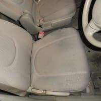 車のシート汚れ