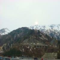 立山 黒部の春