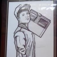 BIG DEALの肖像画(ファンからの贈り物)