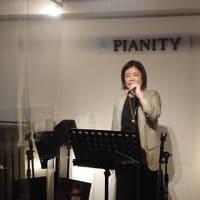 4月10日(土)の午後は、早坂亜紀(vo)さんのライブでした!