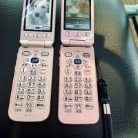 母の携帯電話、ガラケーからガラホへ♪