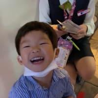 キッザニア3歳初体験 最初の25分は泣いて抱っこから降りず