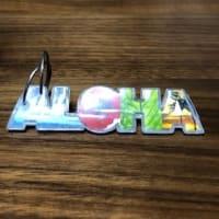 10/22 ALOHAのキーホルダー 付けていたけど取れちゃった