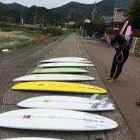 パタゴニアFCD Surfboards 試乗会終了★byLES